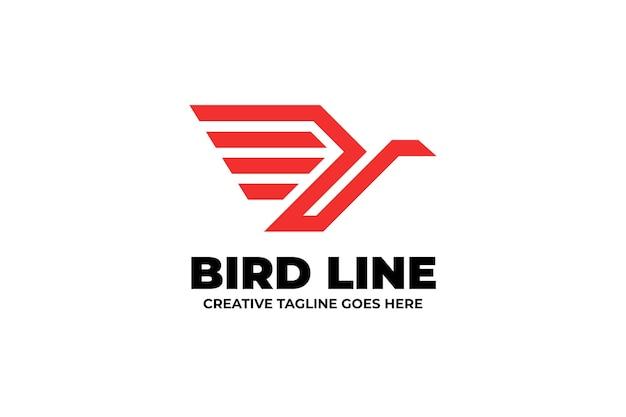Logo linii ptaków