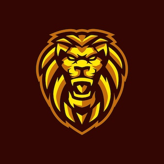 Logo lion esports