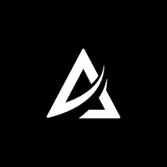 Logo listowe i projekt ikony biznesowej
