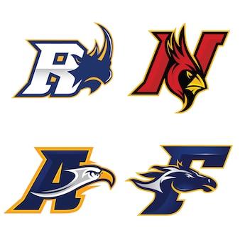 Logo literowe