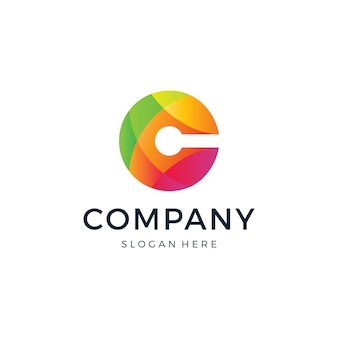 Logo litery c.