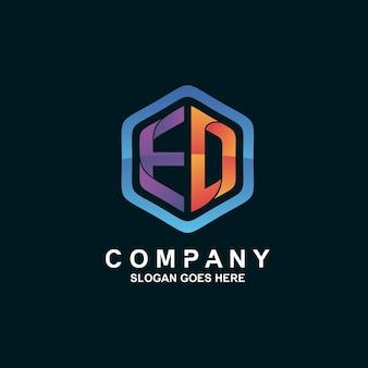 Logo litery e i d