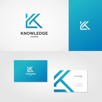 Logo litery k.