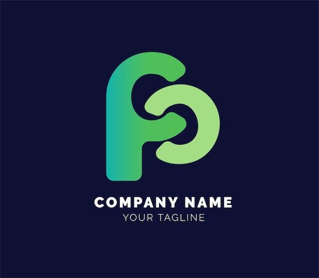 Logo litery lub logo firmy lub logo nieruchomości