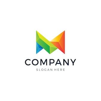 Logo litery m.
