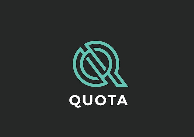 Logo litery q.