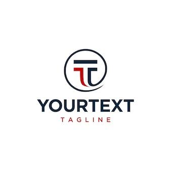 Logo litery t.