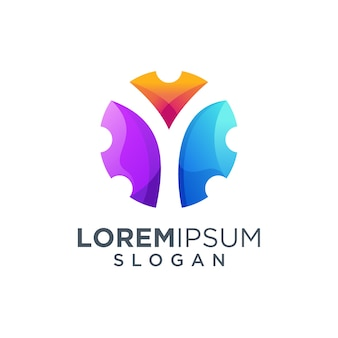 Logo litery y.