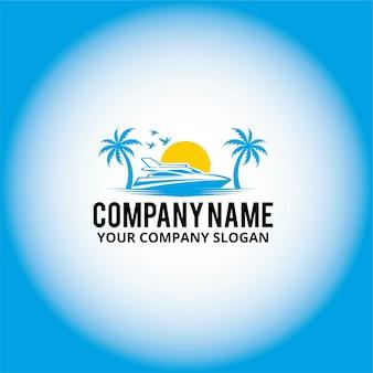 Logo łodzi palmowej