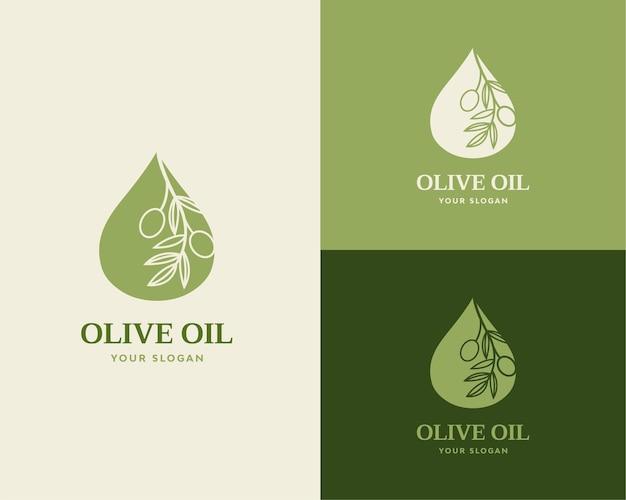 Logo luksusowej oliwy z oliwek