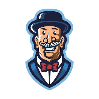 Logo mafia boss esport