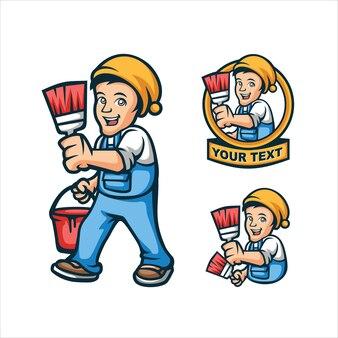 Logo malarza