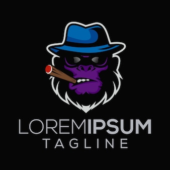Logo małpy szefa mafii