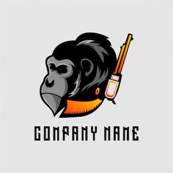 Logo małpy