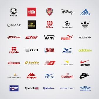 Logo marki sportowe