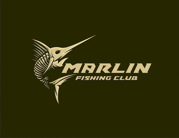 Logo marlin fishing club
