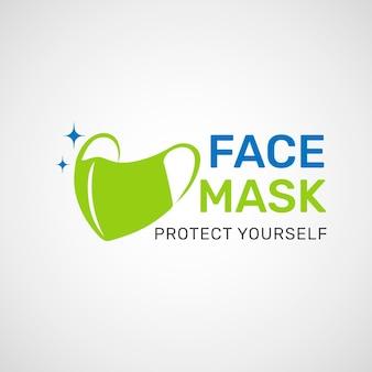 Logo maski na twarz