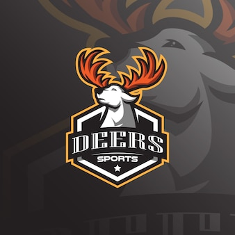 Logo maskotka jelenia