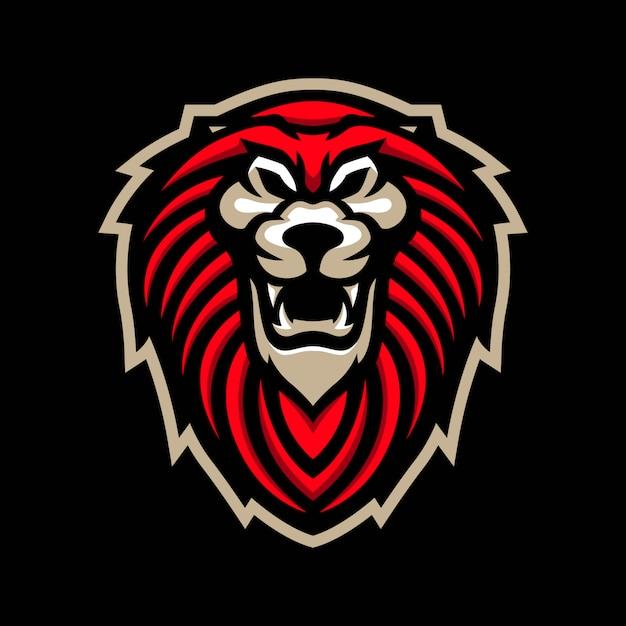 Logo maskotka lew