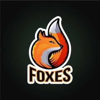 Logo maskotka lis