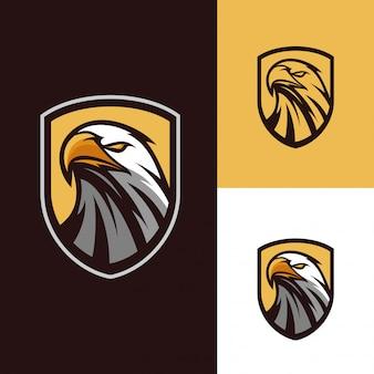 Logo maskotka orzeł