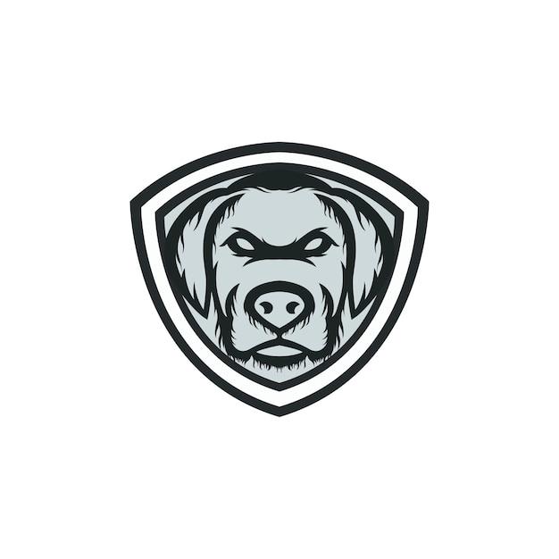 Logo maskotka psa