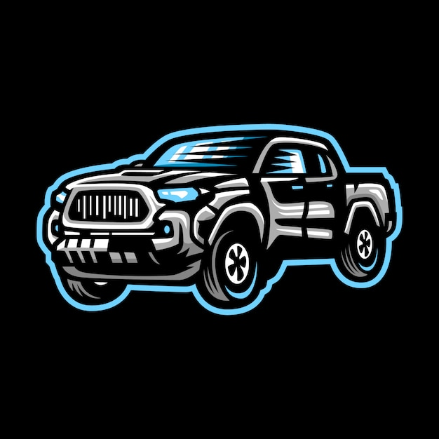 Logo maskotka samochodu