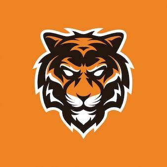 Logo maskotka tygrysa