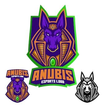 Logo maskotki anubisa