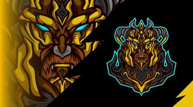 Logo maskotki armii wikingów