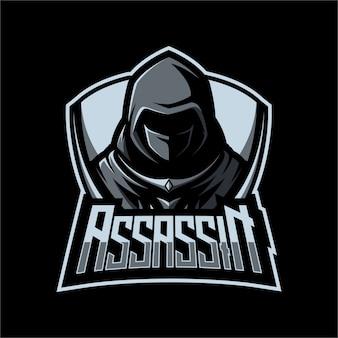 Logo maskotki assassin