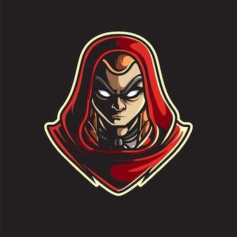 Logo maskotki esport assassins