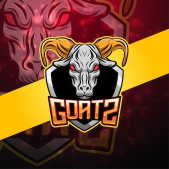 Logo maskotki esport kozy