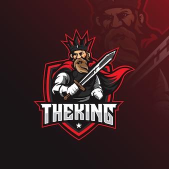 Logo maskotki króla