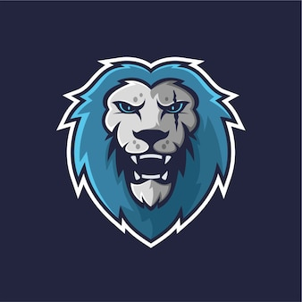 Logo maskotki lwa