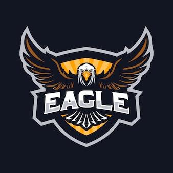 Logo maskotki orła