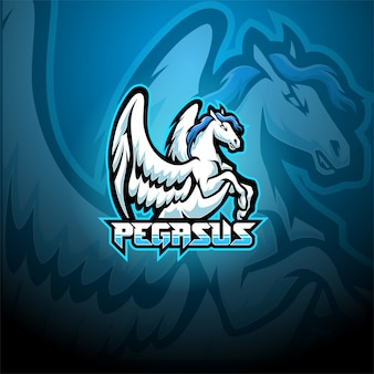 Logo maskotki pegaz
