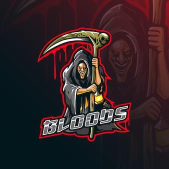 Logo maskotki reaper