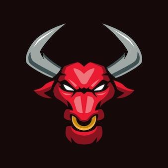 Logo maskotki red bull