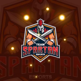 Logo maskotki spartańskiej
