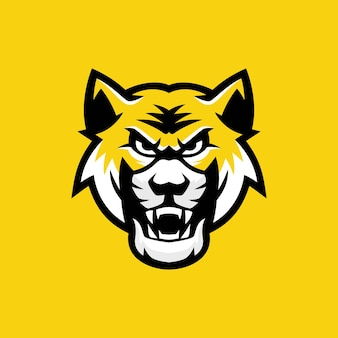 Logo maskotki tygrysa bengalskiego