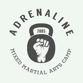 Logo mieszanych sztuk walki