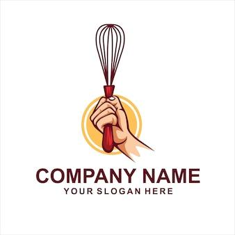 Logo miksera ciasta