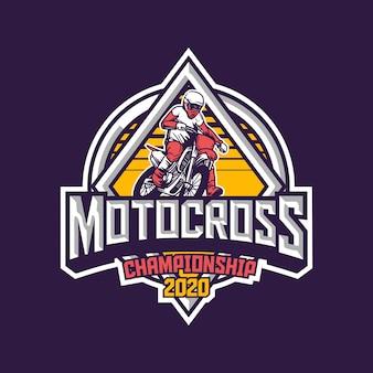 Logo mistrzostw motocross 2020
