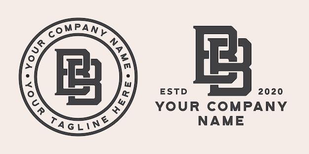 Logo monogram bb
