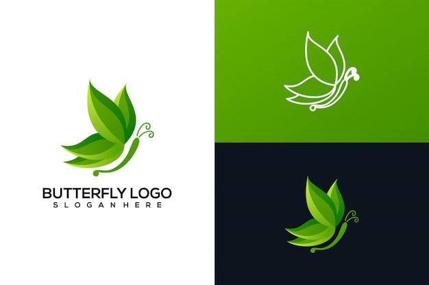 Logo motyl