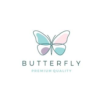 Logo motyla