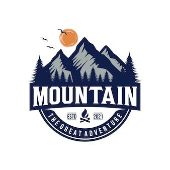 Logo mountain adventure