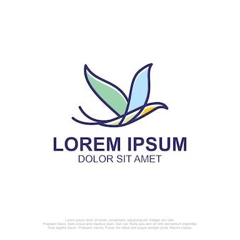 Logo muchowe dla ptaków