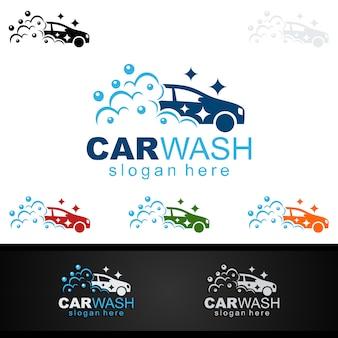 Logo myjni samochodowej
